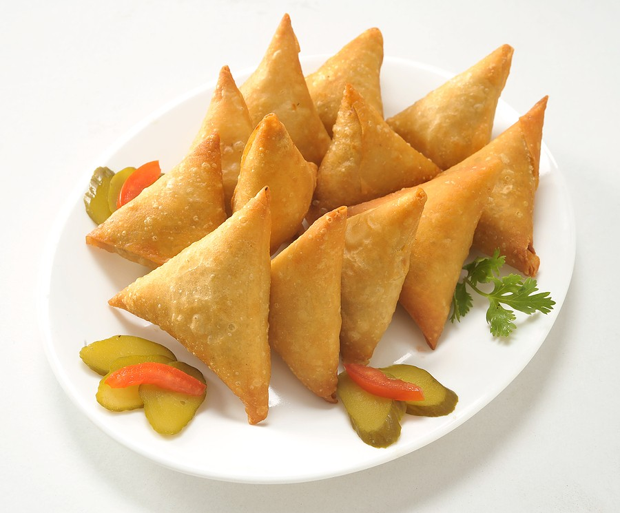 Samosas in George the Garden Route