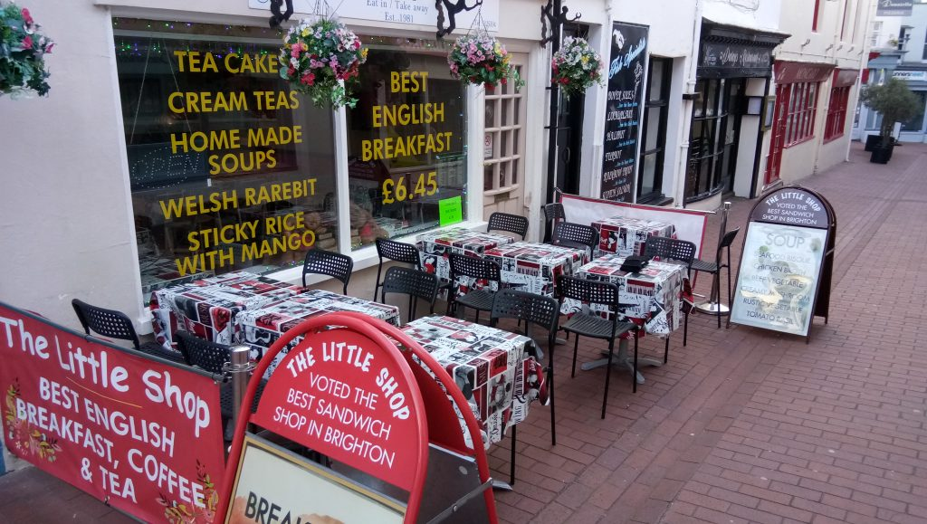 Homemade soups in Brighton