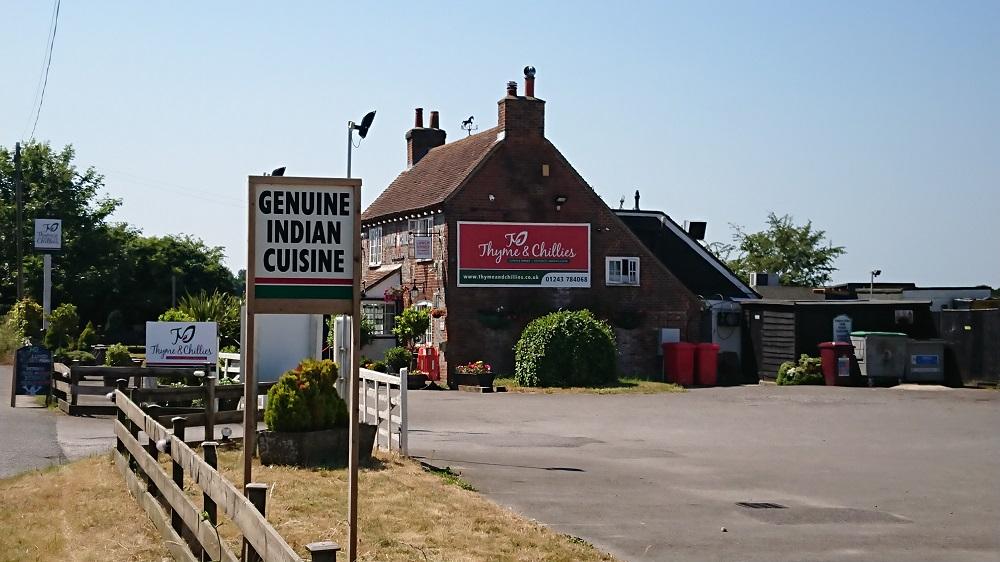 Indian restaurants Chichester