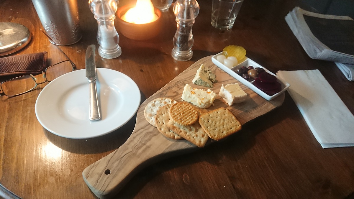 Cheese platter Midhurst West Sussex