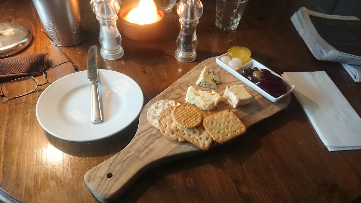 Cheese platter Midhurst West Sussex