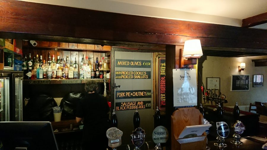 Bar snacks and pub lunches West Sussex
