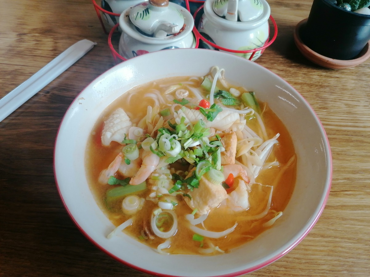 Hot and sourTom Yum Kung Portsmouth