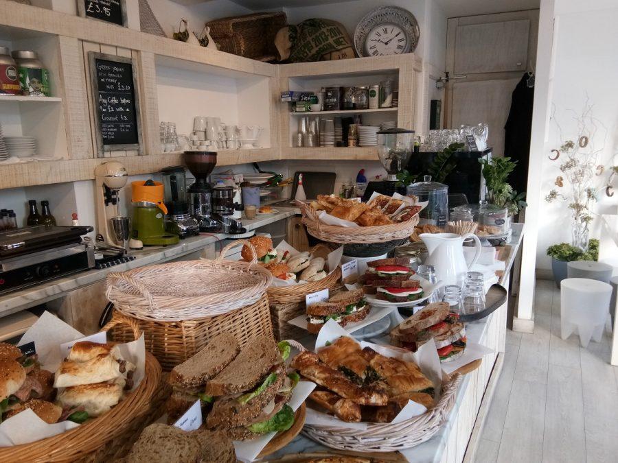 Coffee shops in Brighton