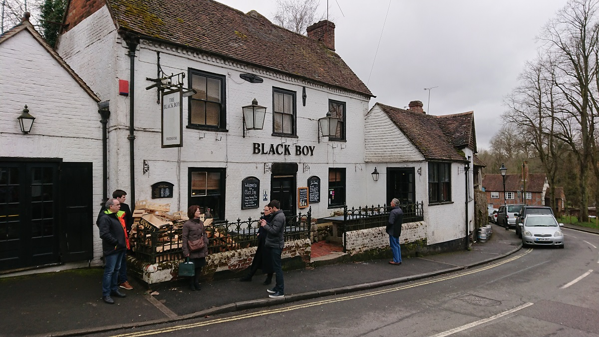 Traditional English Pubs Winchester Hampshire