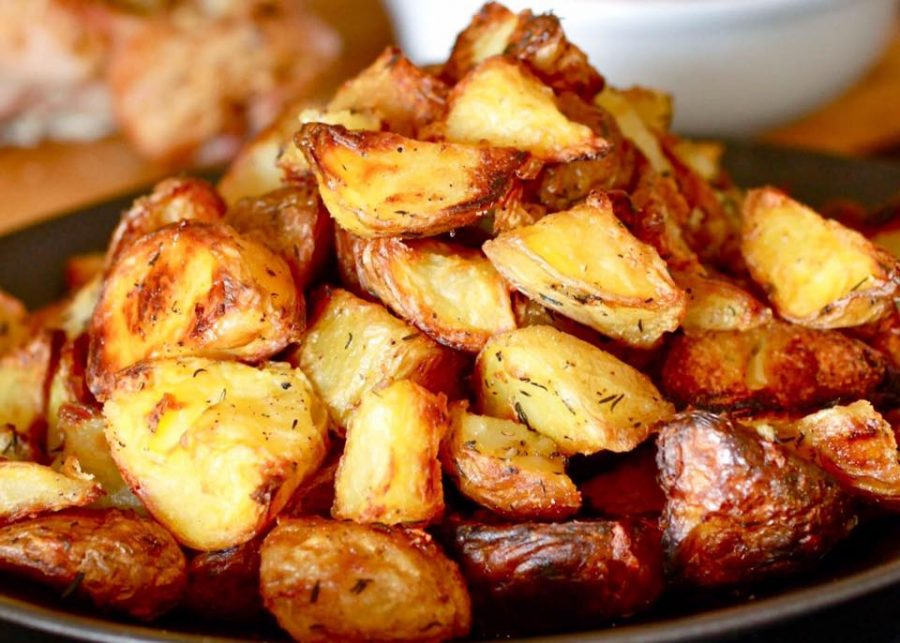 Traditional roast potatoes Aldwick, Bognor Regis, West Sussex